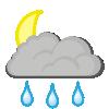 Heavy rain showers