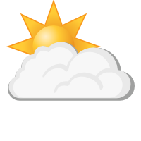 Météo à Sauda : Partiellement nuageux