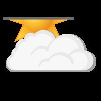 Météo à Vadsø : Partiellement nuageux
