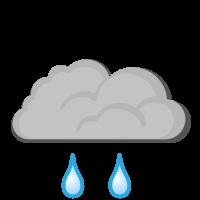Météo à Sauda : Pluie