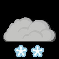 Météo à Verdal : Neige