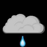 Météo à Levanger : Légère Pluie