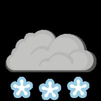 Météo à Odda : Beaucoup de neige
