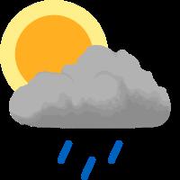 Déšťové přeháňky
