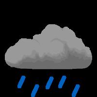 Silný dážď
