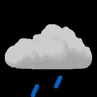 Легкий дождь